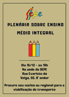 Plenária sobre Ensino Médio Integral