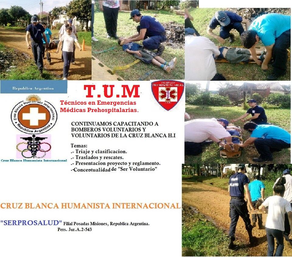 CRUZ BLANCA HUMANISTA INTERNACIONAL -SerProSalud. Filial:Posadas, Misiones, ARGENTINA.
