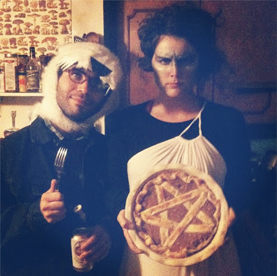 Wolf & Medusa with Pentagram Pie