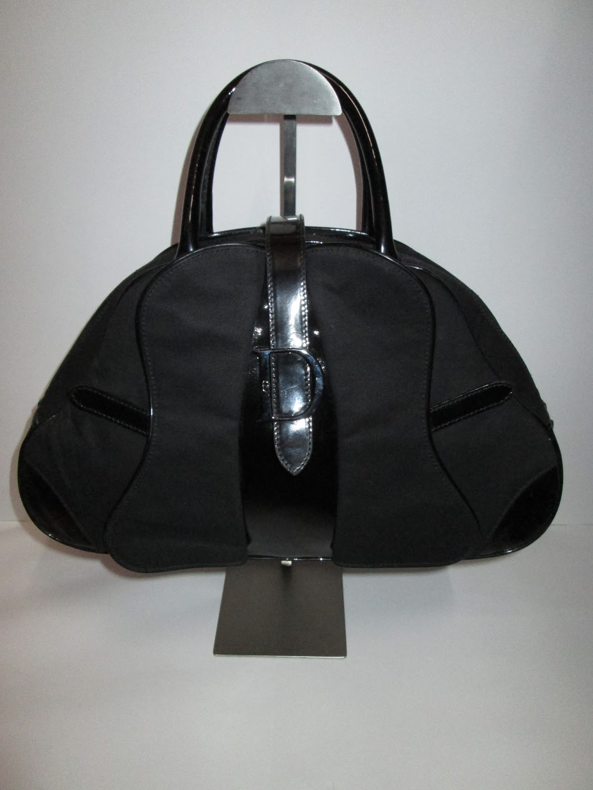 D0rayakeebag Authentic Christian Dior Paillette Bowling