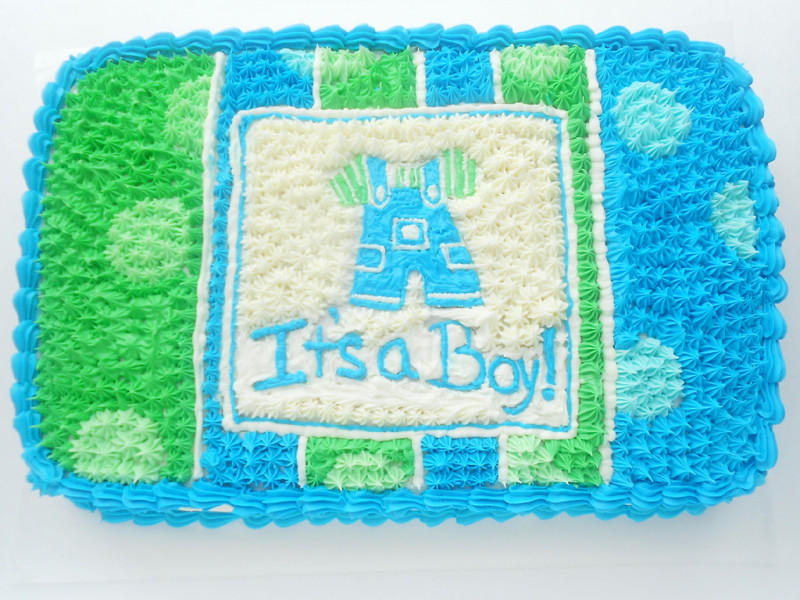 Its A Boy Baby Shower Cake Confessions Of A Confectionista