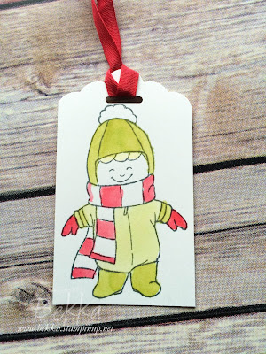 Coloured Christmas Cuties Gift Tags - get the details here