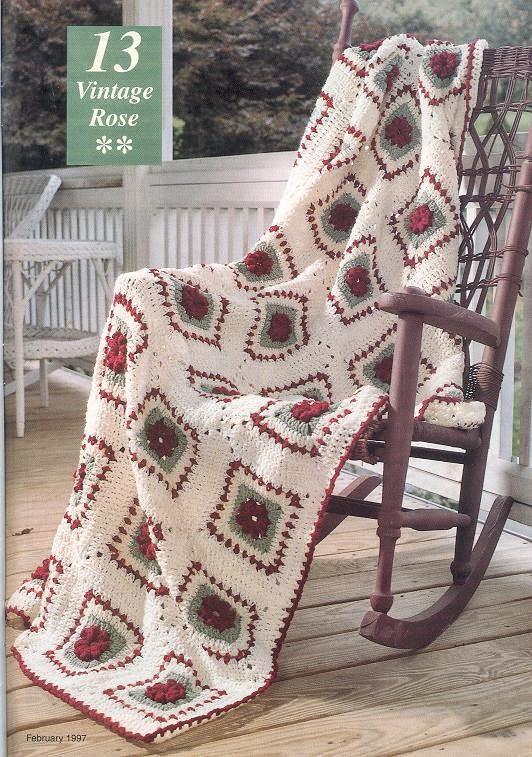 Вязаное ассорти: пледы и скатерти