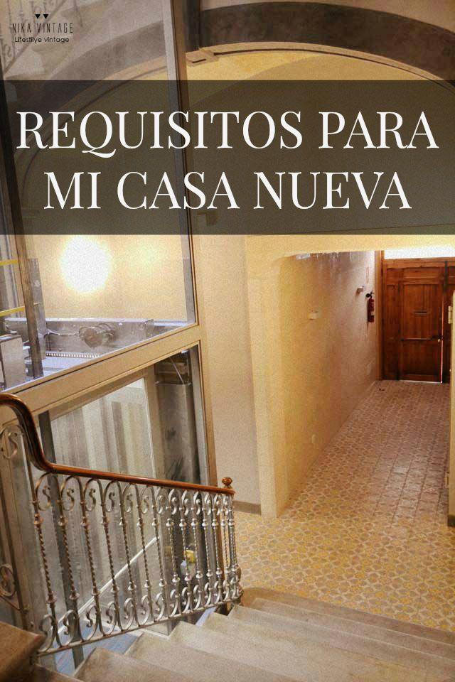 Nika vintage requisitos para mi casa nueva - Mi casa nueva ...