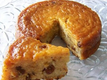 Receta casera para torta de pan
