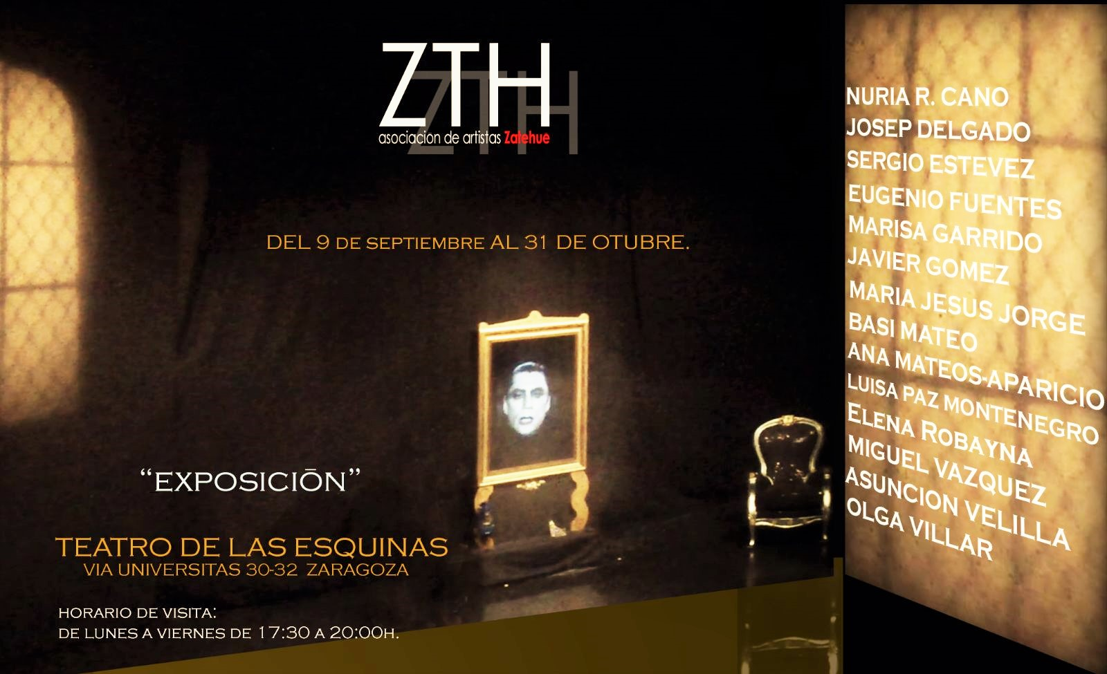 Exposición ZTH Teatro de las Esquinas