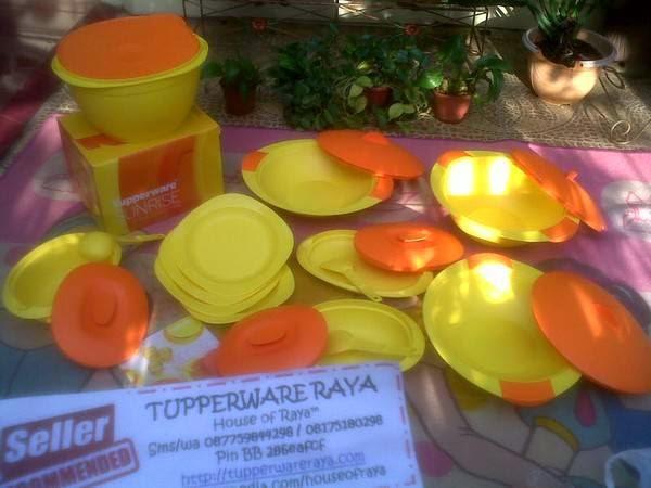 Tupperware Promo Extravaganza Sunrice Dinning Set
