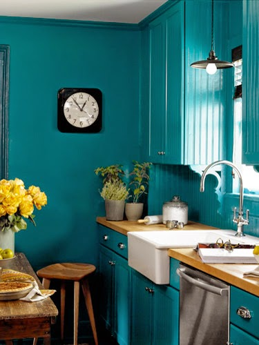 Home Deisgn 10 Ways To Add Color To Your Kitchen