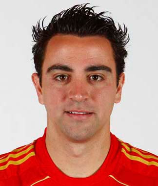 Xavi Hernandez Hairstyles