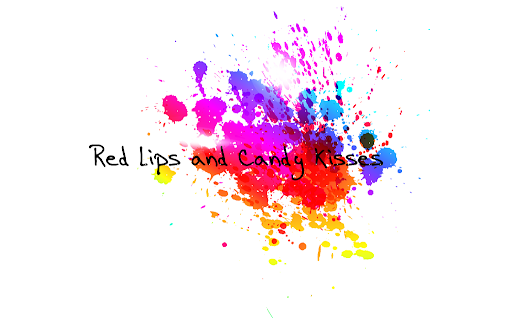 red lips and candy kisses