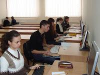 Фото з ювілейної ХV-ї олімпіади МДАУ з інформатики.