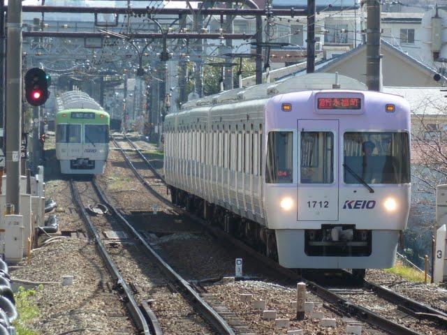 京王電鉄 急行 永福町行き 1000系1~4次車バイオレット
