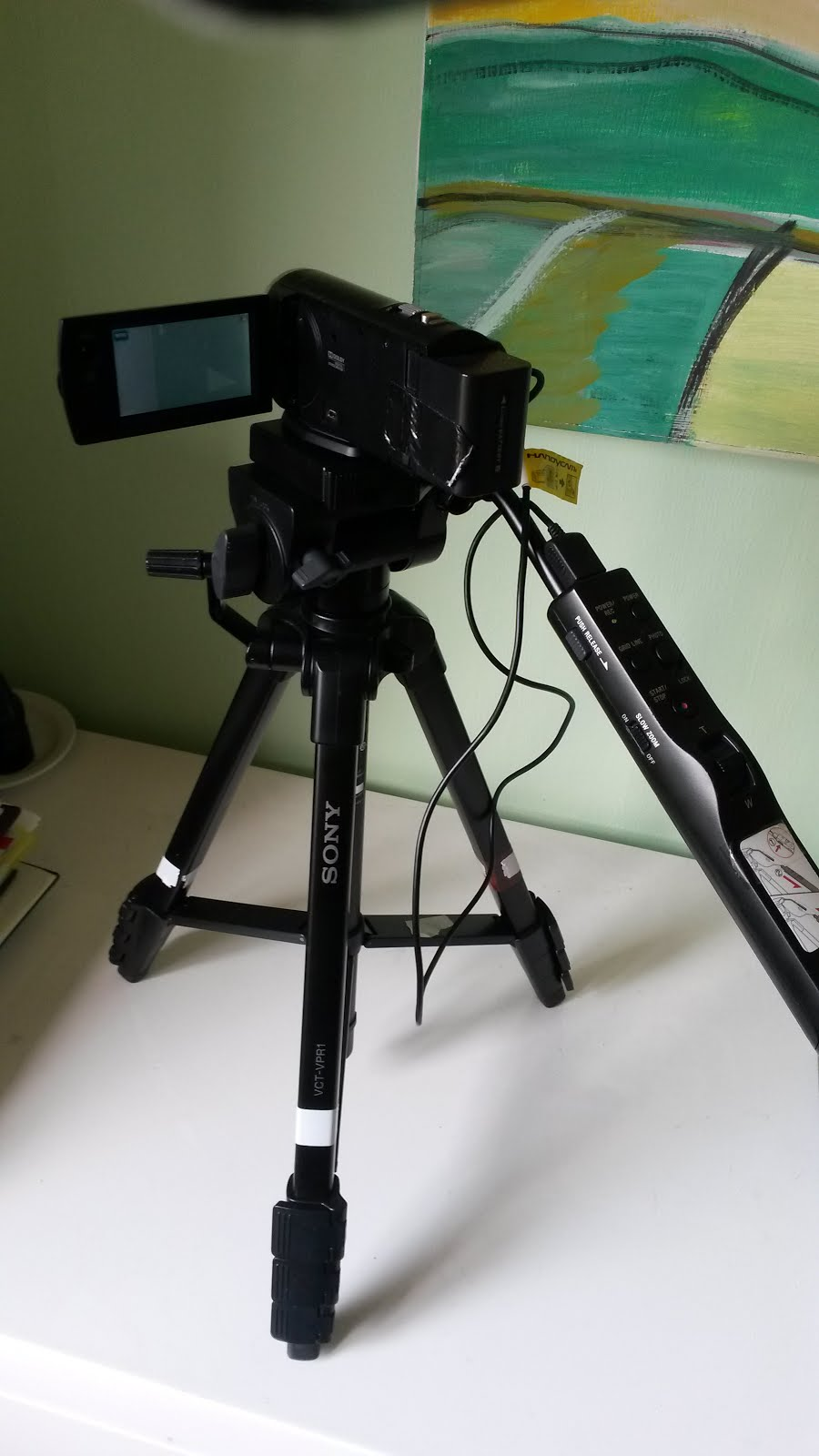 notre camera sony qualité pro avec zoom dans le manche