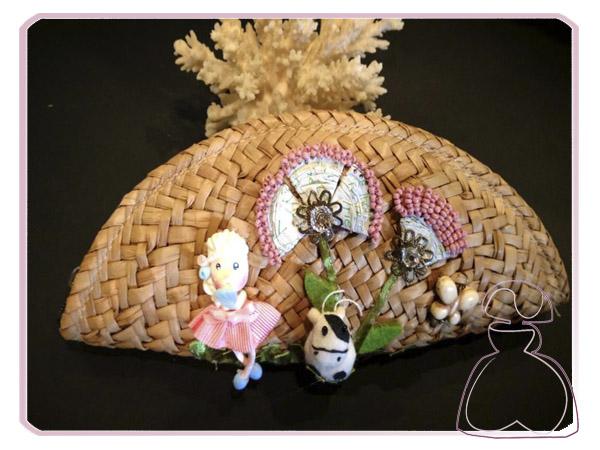 Neceser para bolso de El Jardín del Edén por Sylvia Lopez Morant.