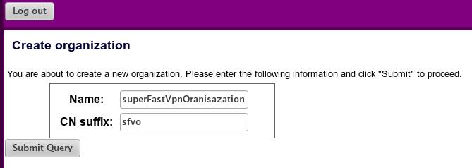 purplenet install ubuntu create organization