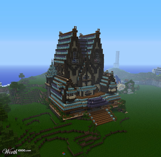 Manoir Minecraft