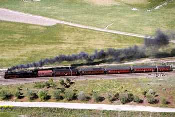 foto del Tren de la Fresa en movimiento