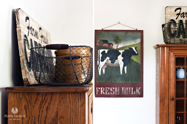 this beautiful life fresh_milk_vintage_farm_sign_kitchen_design_photography