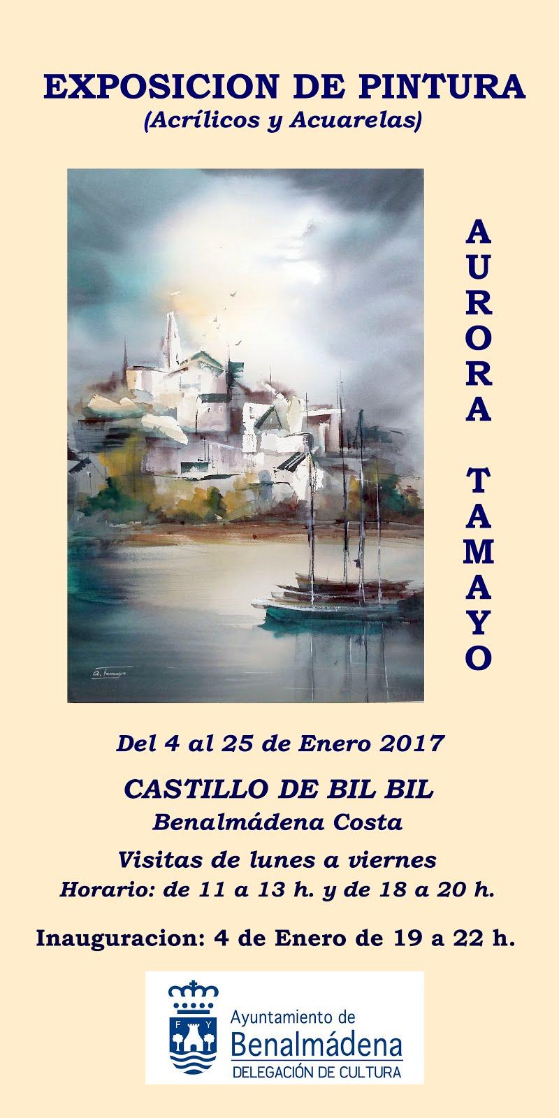 Exposición en Castillo de Bil Bil en Benalmádena