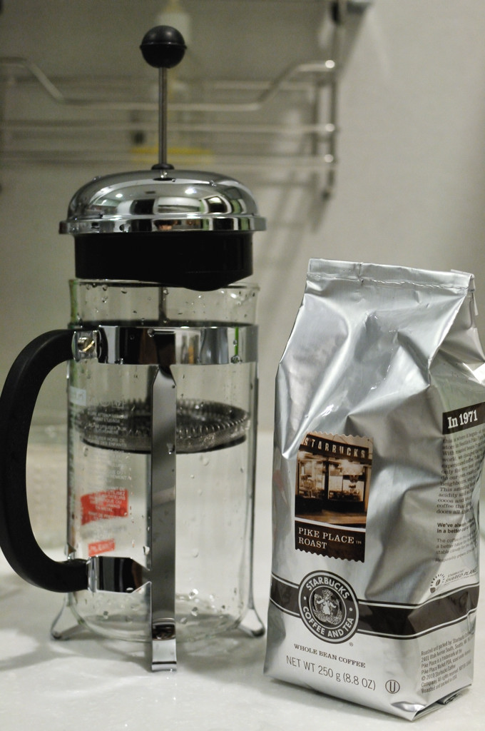 Jeff 39 s blog bodum chambord french press coffee maker with - Starbucks bodum french press ...