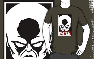 Marvel Comics x Obey Giant The Watcher &#8220;Watch!&#8221; T-Shirt by Blair Campbell