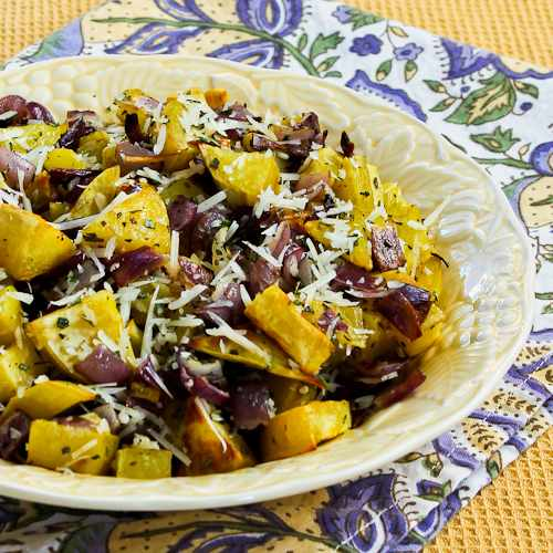 Savory Roasted White Sweet Potatoes