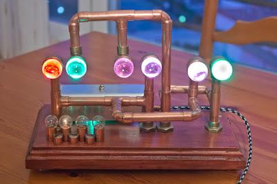 Reloj Cromático Steampunk con Arduino