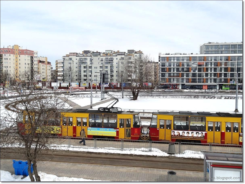 Pętla autobusowa i tramwajowa Osiedle Górczewska.