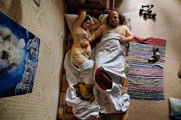 Portraits of Sleeping Couples