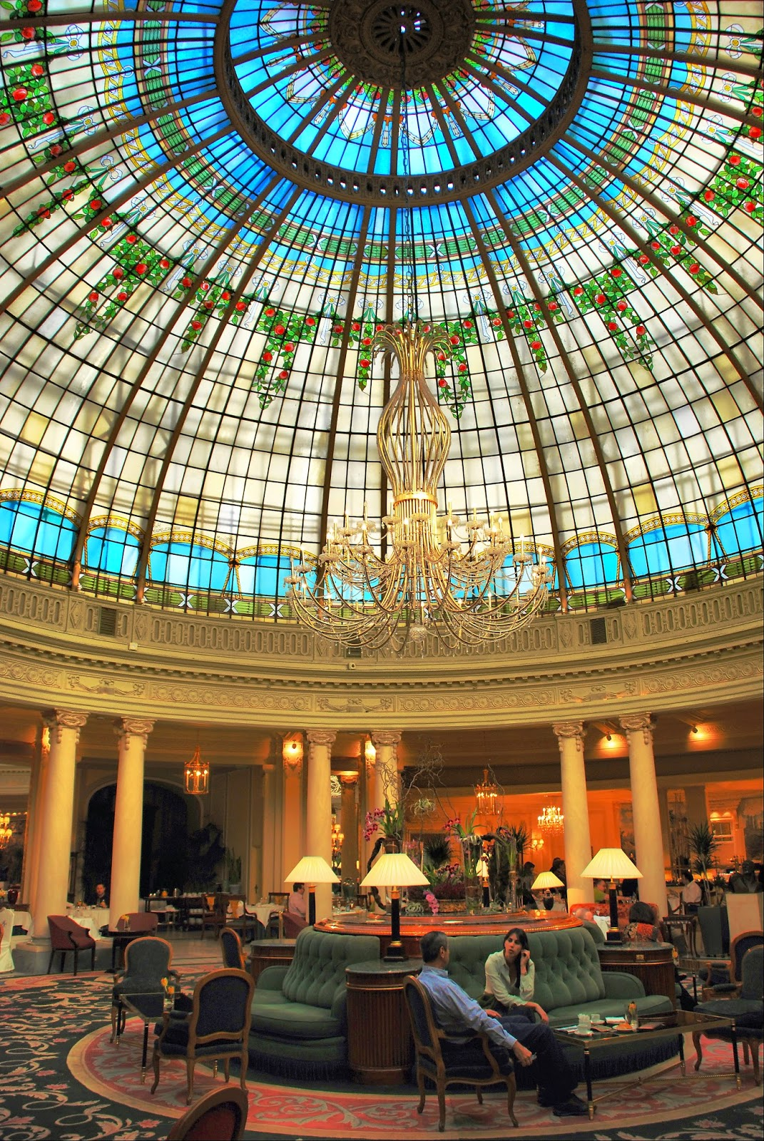 Hotel Palace. Cúpula de la Rotonda.