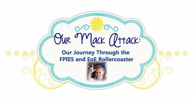 Our Mack Attack ~ Living with EoE and FPIES