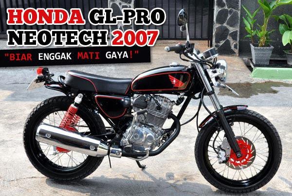 Modifikasi Motor GL Pro
