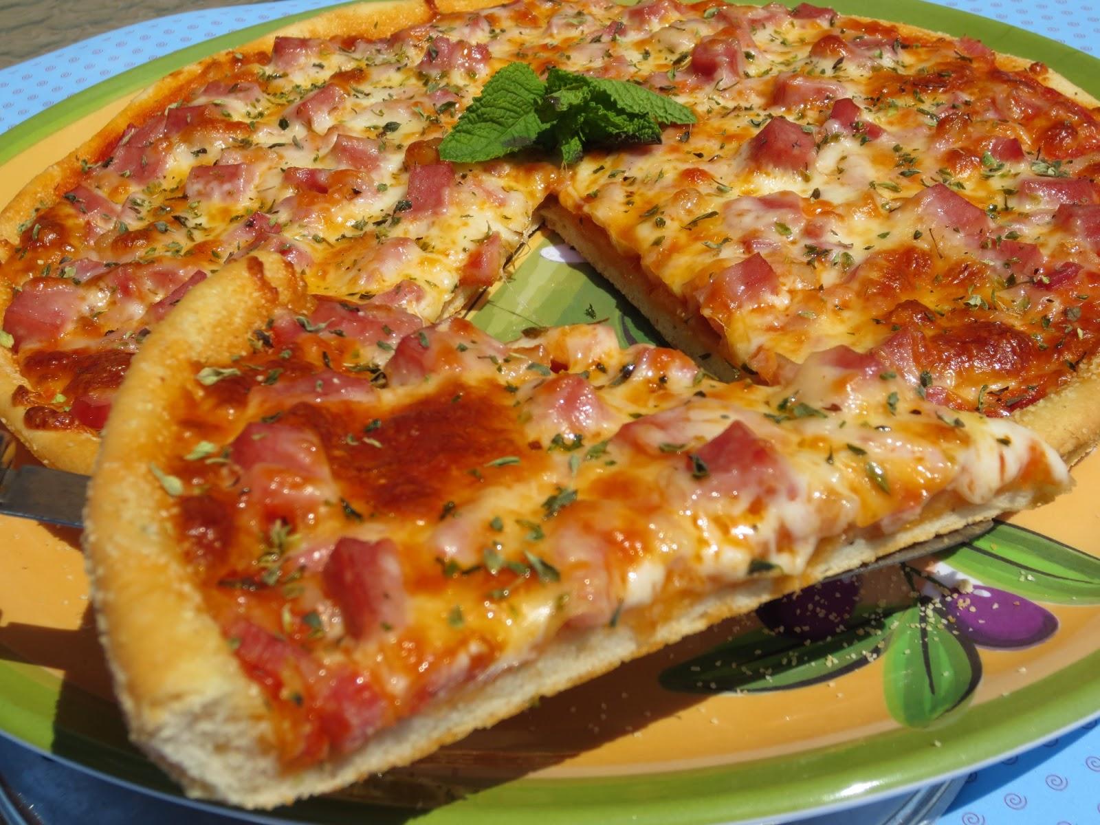 Pizza thermomix harina mercadona