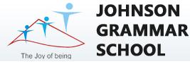 Johnson Grammar School Habsiguda Logo