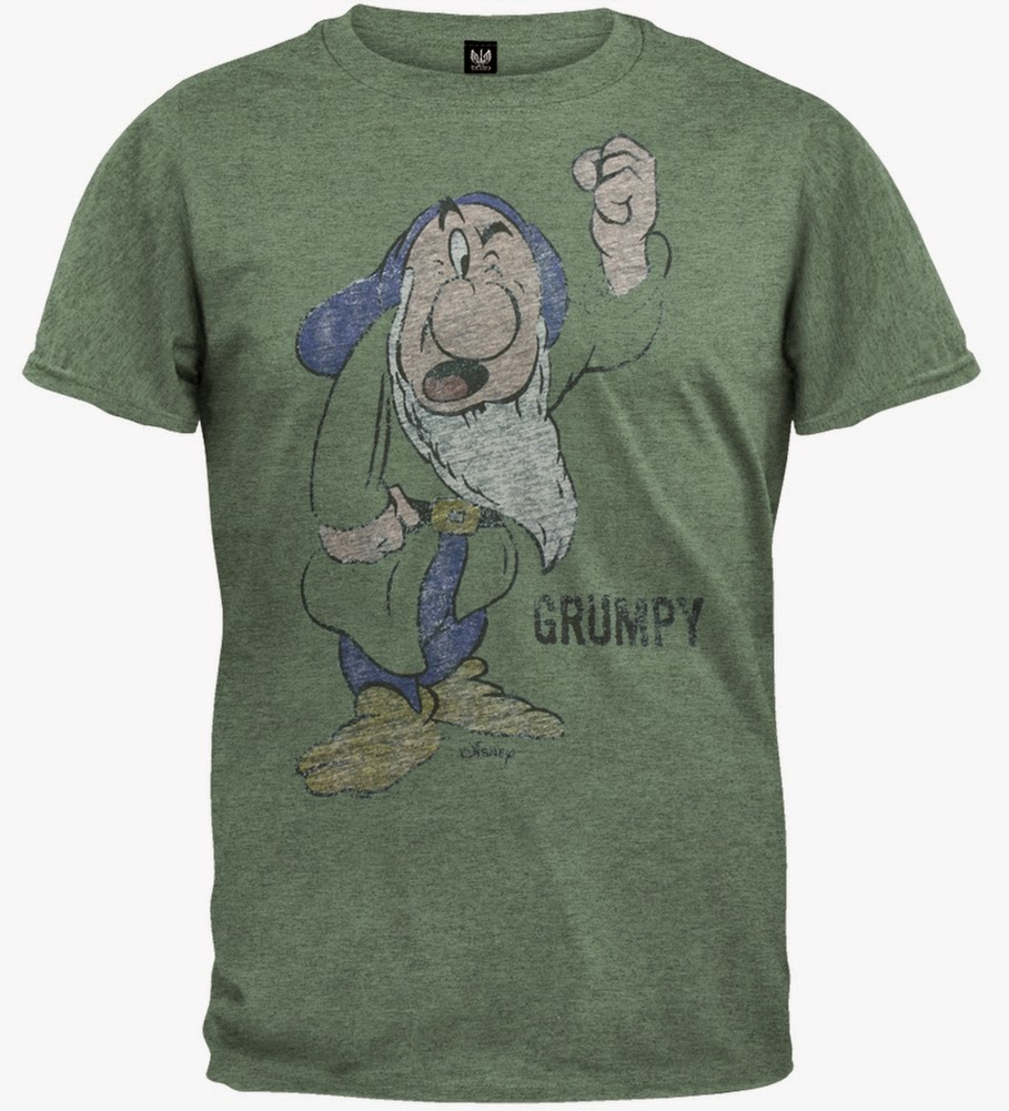 Filmic light snow white archive grumpy tees and tops circa 1937 grumpy t shirt 2011 sold at disney theme parksdisney store outlet gumiabroncs Images