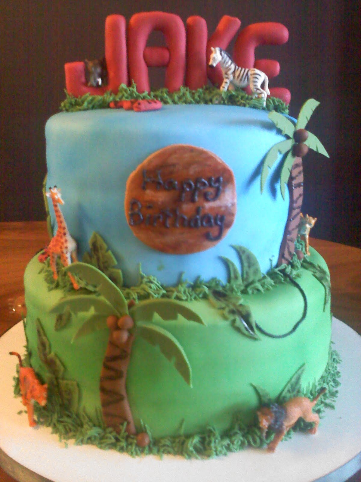 Lick Your Lips Cakes: Jungle Cake