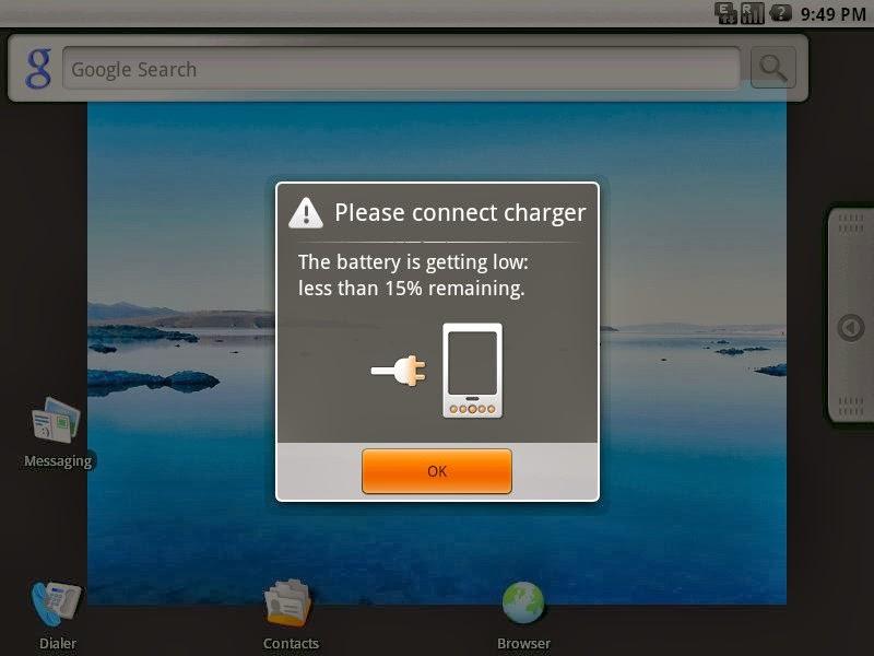Tutorial Battery Reminder Tanpa PC