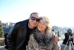 Manuel Espadafor Caba -mi padre-,en forma mental y físicamente.Mi madre mas dedicada al piano