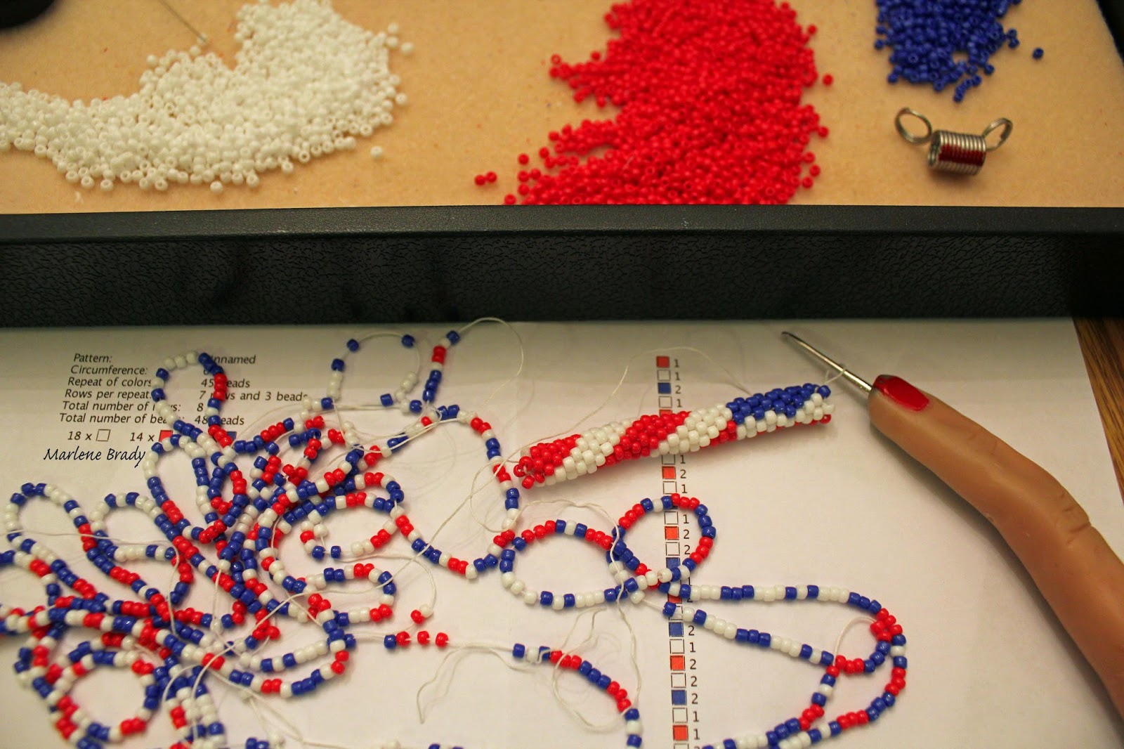 Crochet Pattern Program : Marlene Brady: May 2013