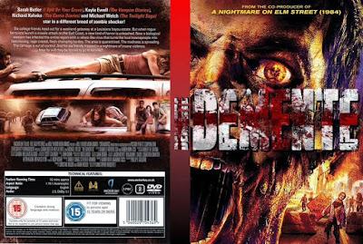 Filme Dementes DVD Capa