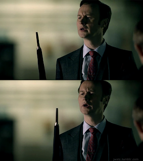 Mycroft Holmes umbrella