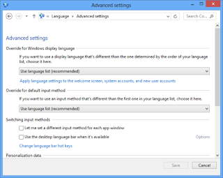 How to Change Keyboard languages via Keyboard Shortcut
