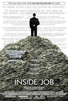 Cartel oficial de la pelcula &#171;Inside Job&#187;