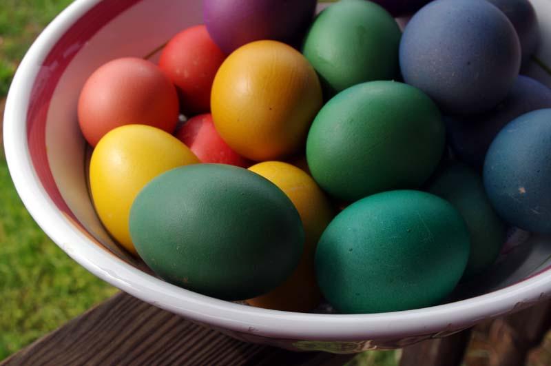 Preparing The Eggs