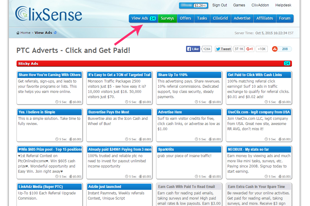 Clixsense - Full Step-By-Step Guide and Strategy ~ Web Income Tips