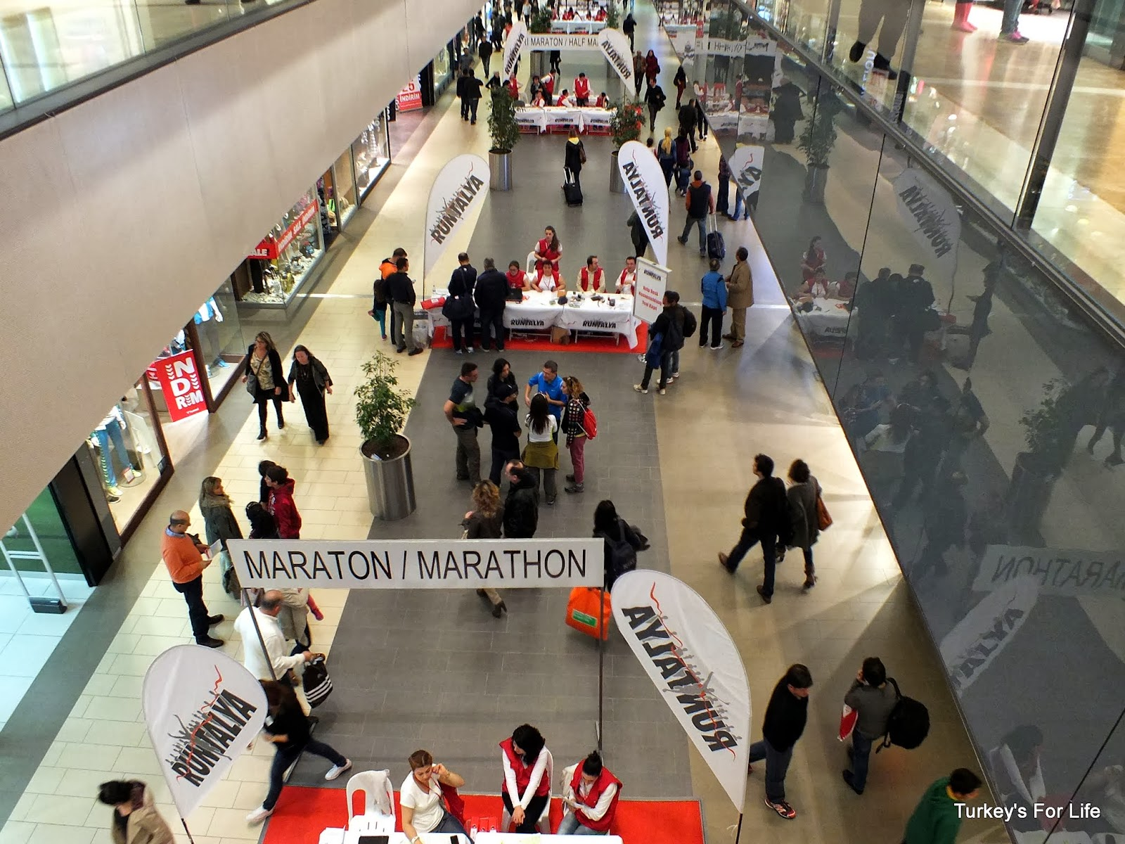 Runtalya 2014 Registration At Terra City, Antalya