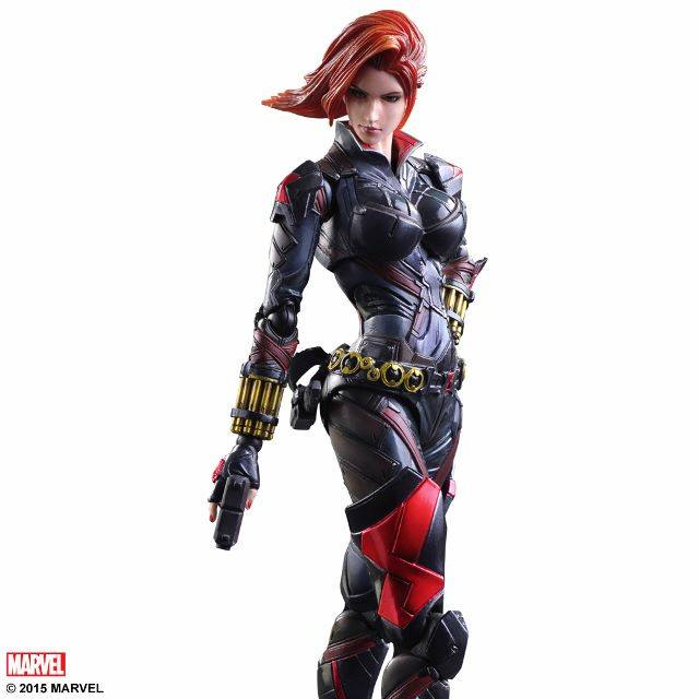 Play Arts Kai Black Widow Marvel Universe Variant