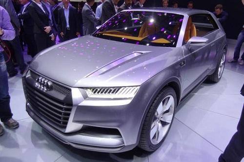 Paris 2012 Audi Crosslane Coupe Concept Carsfresh