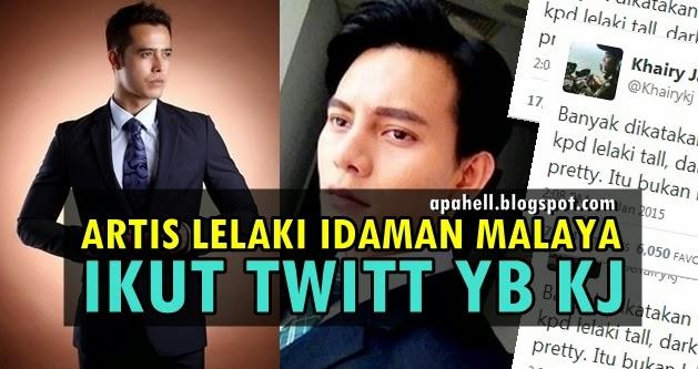 Artis Lelaki Idaman Malaya Mengikut Taste YB KJ (5 Gambar)