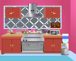 Solucion Kitchen Escape Guia